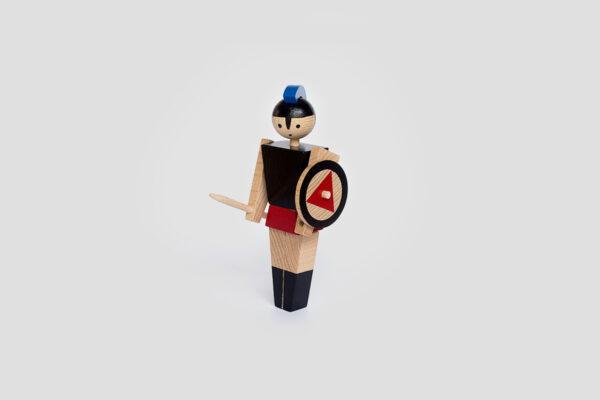 dřevěná hračka Achilles