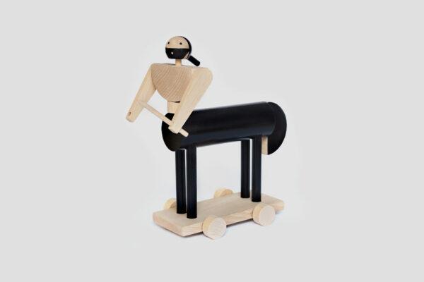 dřevěná hračka Cheirón