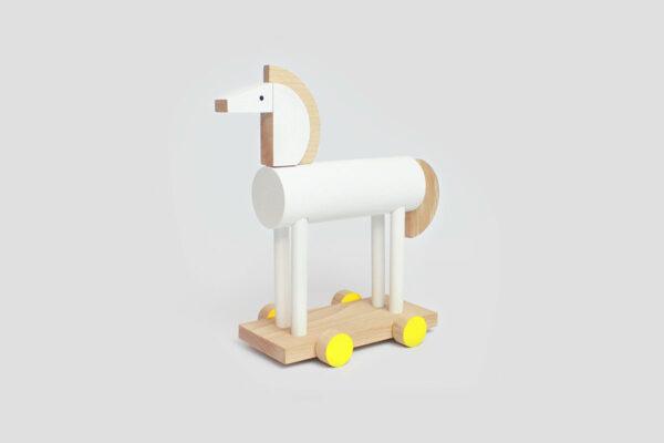 dřevěný koník Flavio