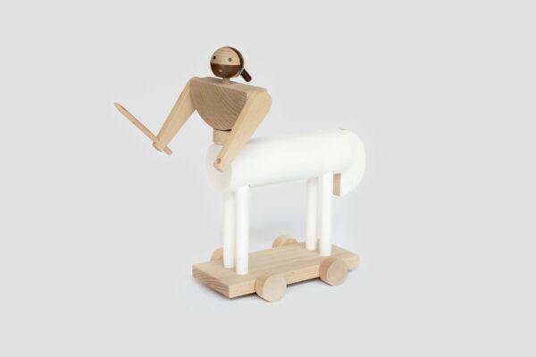 dřevěná hračka Nessos