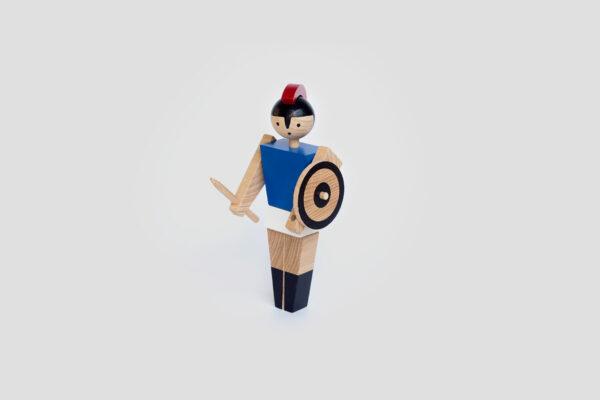 dřevěná hračka Trojan