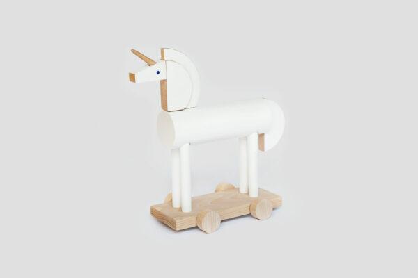 dřevěný Unicorn