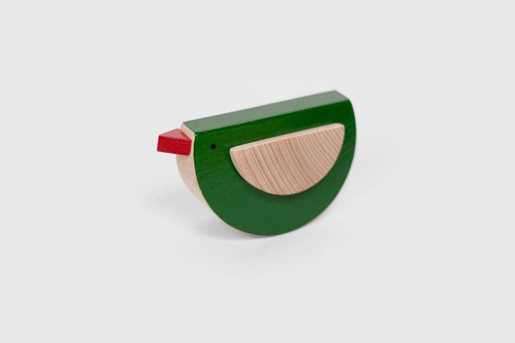 wooden bird Popo